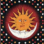 Solar Eclipse in Red 70×104